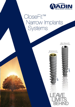 CloseFit Narrow Implants